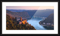 THE RHINE 03 Picture Frame print