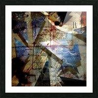 The Shards of Reality Picture Frame print