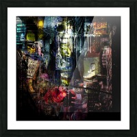 In the Heart of the City Picture Frame print