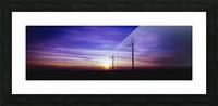 Velvet Flight Picture Frame print