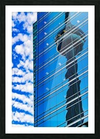 Shimmer In The 6ix Picture Frame print