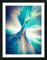 The Crab Nebula Bridge Picture Frame print