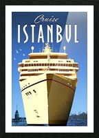Cruise Istanbul Picture Frame print