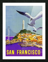 San Francisco Bay Picture Frame print
