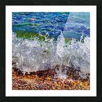 Millennium Splash Picture Frame print
