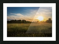 Creekside Sunset 1 Picture Frame print