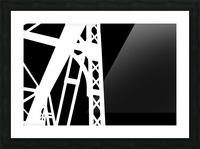 Bridge - XXIV Picture Frame print
