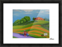 Vino In Vendita Picture Frame print