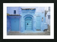 Chefchaouen Medina Morocco Picture Frame print