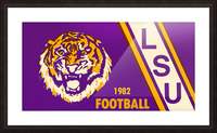 1982 LSU Football Picture Frame print