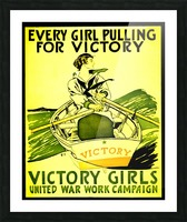 Victory Girls Picture Frame print