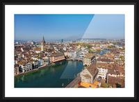 ZURICH 07 Picture Frame print