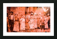 factory workers in 1911 Picture Frame print