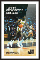 1986 providence basketball poster Picture Frame print