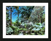 P25 - Small Forest Picture Frame print