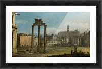 Ruins of the Forum, Rome Picture Frame print