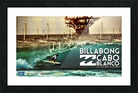 2015 BILLABONG Cabo Blanco Print - Surfing Poster Picture Frame print