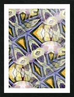 Biophilian Mystique Texture  Picture Frame print
