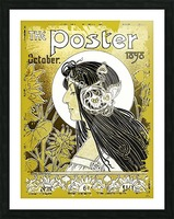 The Poster of 1898 Picture Frame print