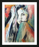 Evangelina Picture Frame print