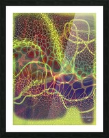 ABSTRACTART07 Picture Frame print