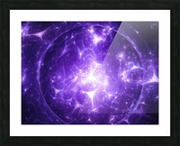 Beyond time Picture Frame print