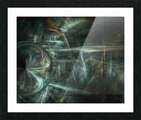 Another world Picture Frame print