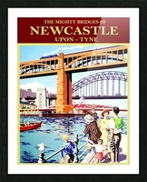 Newcastle upon Tune Picture Frame print