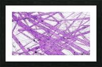Purple Rain Picture Frame print