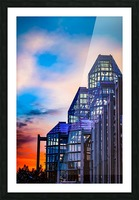 Sunset at the National Gallery of Canada Picture Frame print