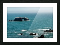 Pacific Coast Highway Clifornia CA 14 Picture Frame print