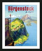 Burgenstock Picture Frame print