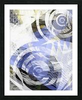 zebra Picture Frame print