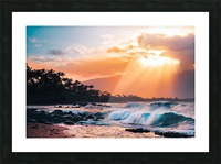 Sunset Paradise Picture Frame print