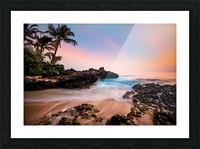 Hawaiian Paradise Picture Frame print