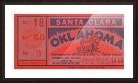 1949 oklahoma sooners bud wilkinson undefeated sooner team Picture Frame print
