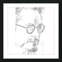 Robert Downy Jr. - Celebrity Pencil Art Picture Frame print