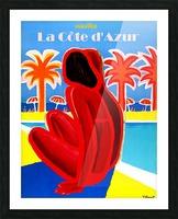 Cote D Azur Picture Frame print
