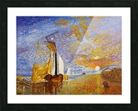 Turners The Fighting Temeraire Picture Frame print