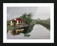 Cochin house Picture Frame print