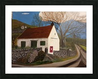 Millbeck Post office Picture Frame print