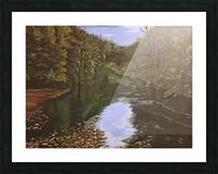 Derwent Walk Picture Frame print