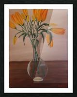 Irises Picture Frame print