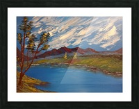 Mountain stream Picture Frame print