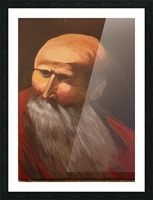 Abraham Picture Frame print