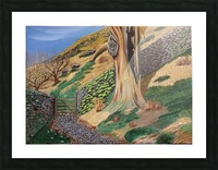 Path to Rydal Mount Picture Frame print