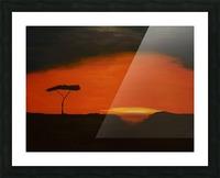 Sunrise of Serengeti Picture Frame print