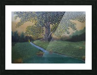 The sentinel tree Picture Frame print