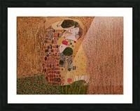 Kiss by Klimt Picture Frame print