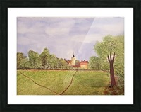 Village Green Picture Frame print